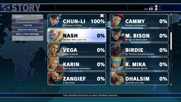 Heroes Street Fighter V Screen