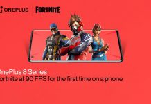 oneplus fortnite mobile smartphone 90fps
