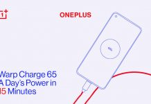 oneplus 8t 65w warp charge 4.500mah battery